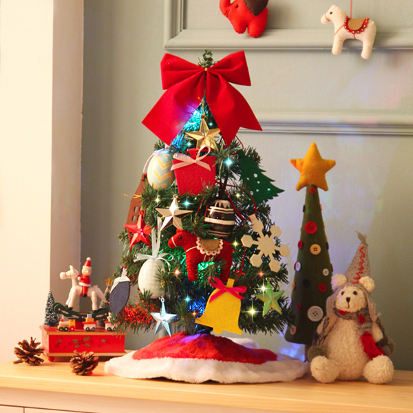 05636A_크리스마스트리(전구+사은품포함) 50cm